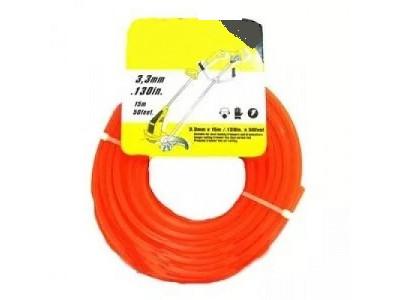 Купить Леска для косилки круглая d=3.3 mm, 15 m