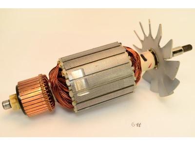 Купить Якорь болгарки DWT WS-230 SL, 59*212 шпонка+резьба 10мм