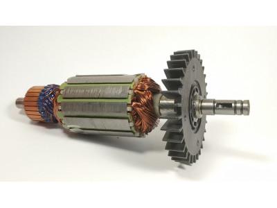 Купить Якорь болгарки WinTech WAG-180F, 43*174.5 шпонка+стоп.кольцо 9мм