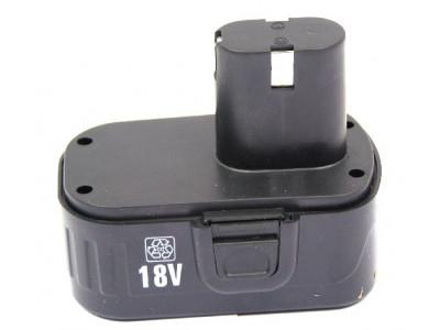Купить Аккумулятор для шуруповерт 18 v  (прямой) Ni-Cd 3 контакта